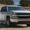 Daytime Running Lamps are standard on the new Silverado 1500