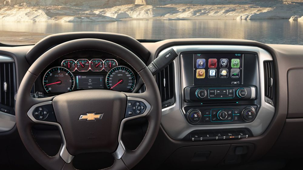 2016 Chevy Silverado steering wheel   The News Wheel