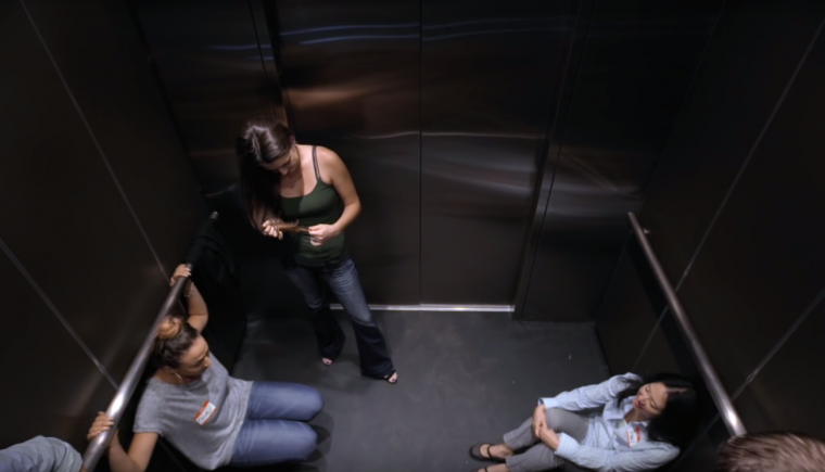2016 Chevy Volt commercial elevator