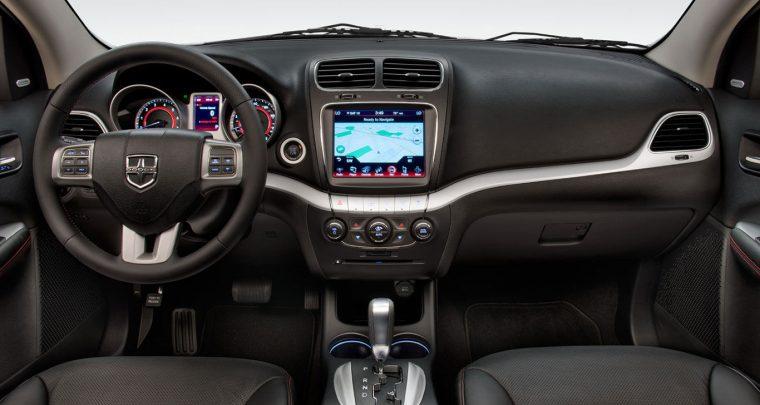 2016 Dodge Journey Dashboard