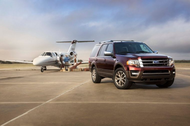 The 2016 Ford Expedition boast 365 horsepower