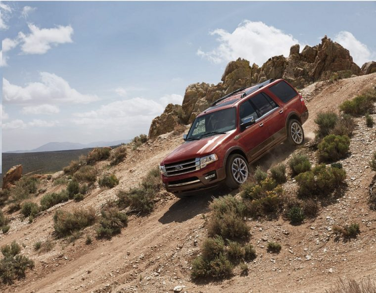The 2016 Ford Expedition features 420 lb-ft of torque