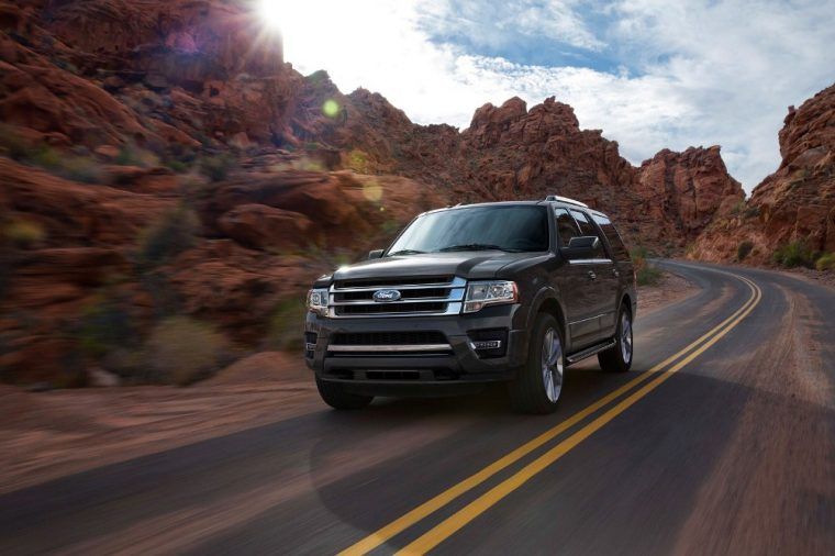 The 2016 Ford Expedition is good for 365 horsepower and 420 lb-ft of torque
