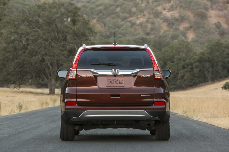 The 2016 Honda CR-V features a starting MSRP of $23,595