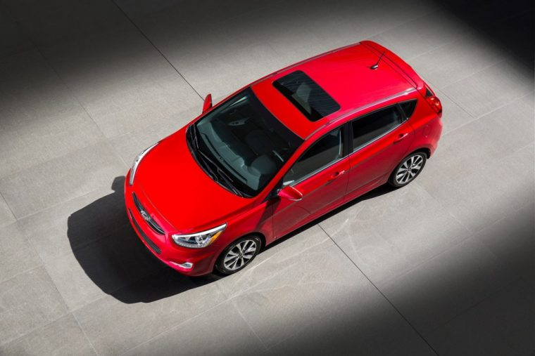 The 2016 Hyundai Accent is good for 27 mpg in the city and 38 mpg on the highway