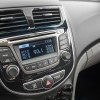 An exterior temperature display is featured inside the 2016 Hyundai Accent