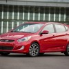 14-inch steel wheels are one of the standard features of the 2016 Hyundai Accent