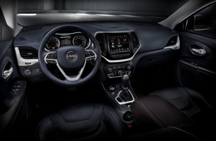 2016 Jeep Cherokee Dashboard Design