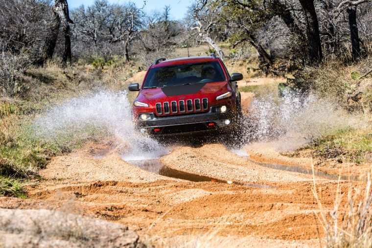 2016 Jeep Cherokee Off-Road