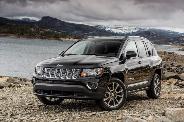 2016 Jeep Compass Wheels