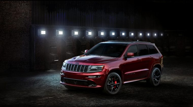 2016 Jeep Grand Cherokee SRT Night Silhouette