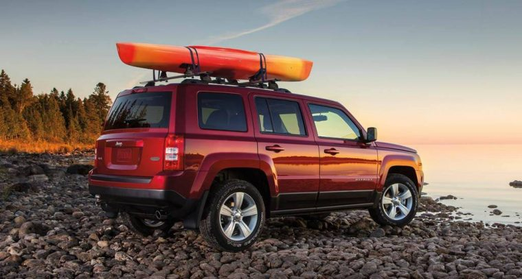 2016 Jeep Patriot Roof Rails