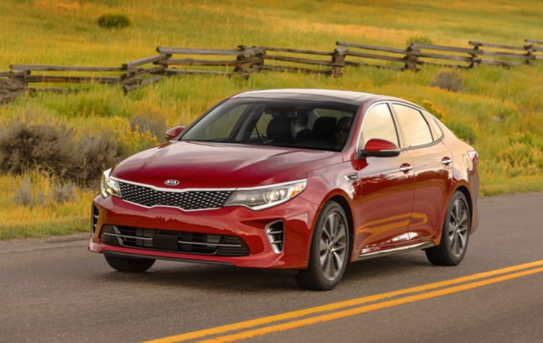 2016 Kia Optima Driving The Was Named Kelley Blue Book S