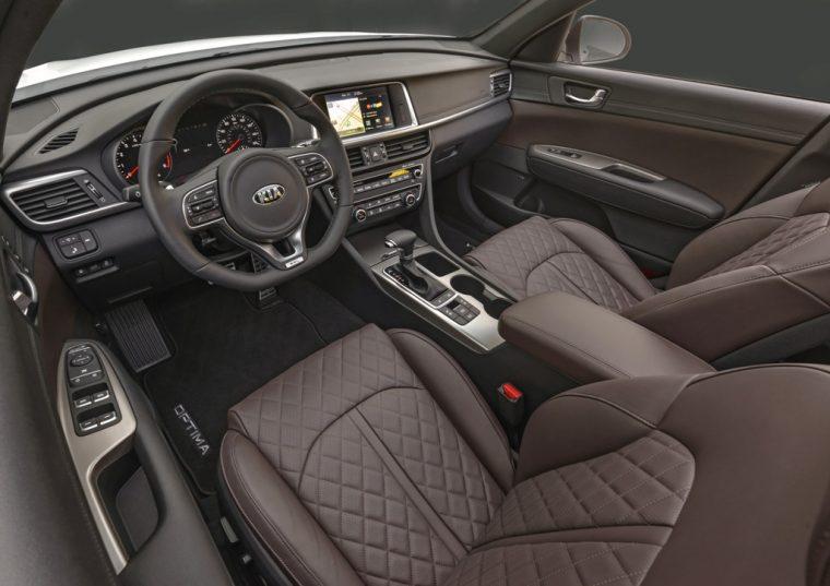 2016 Kia Optima SX Limited Interior