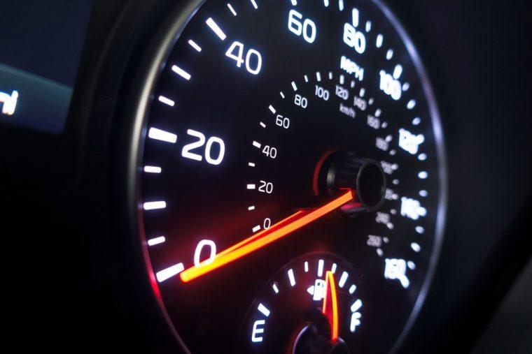 2016 Kia Optima Speedometer