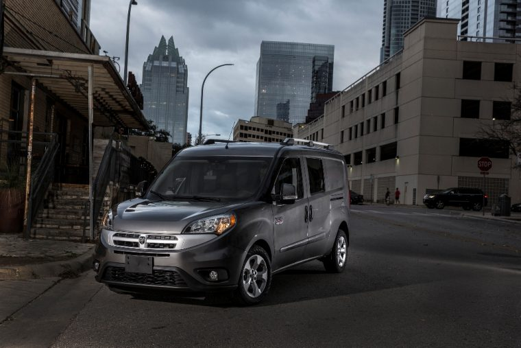 2016 Ram ProMaster City Commercial Green Car of the Year