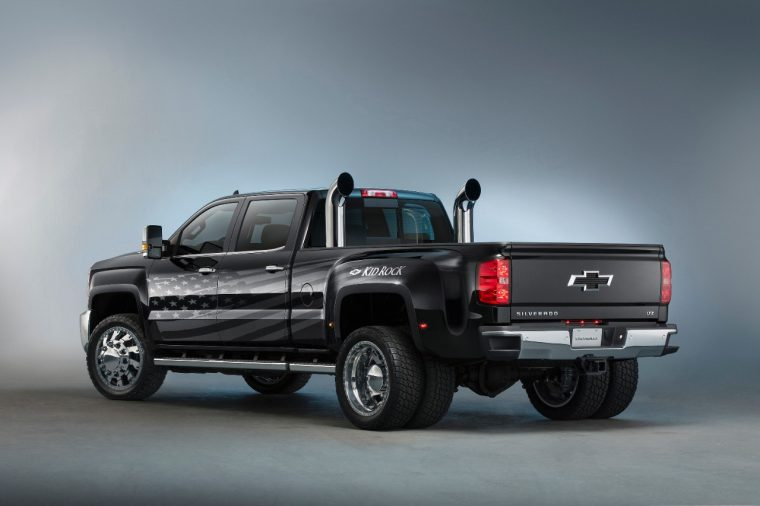 2016 Silverado 3500HD Kid Rock Concept