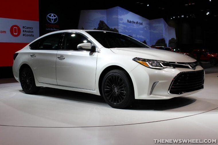 Toyota 2016 Models >> Iihs Names Nine Toyota Models Top Safety Pick The News Wheel
