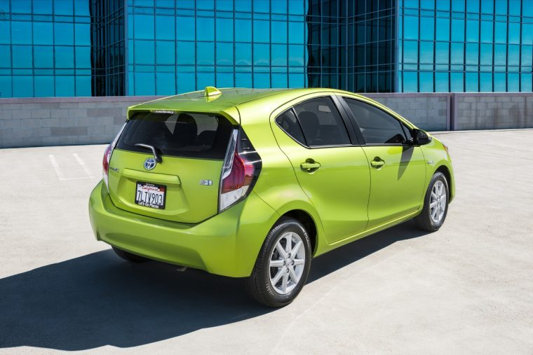 2016 Toyota Prius c kbb.com 5-year cost to own awards