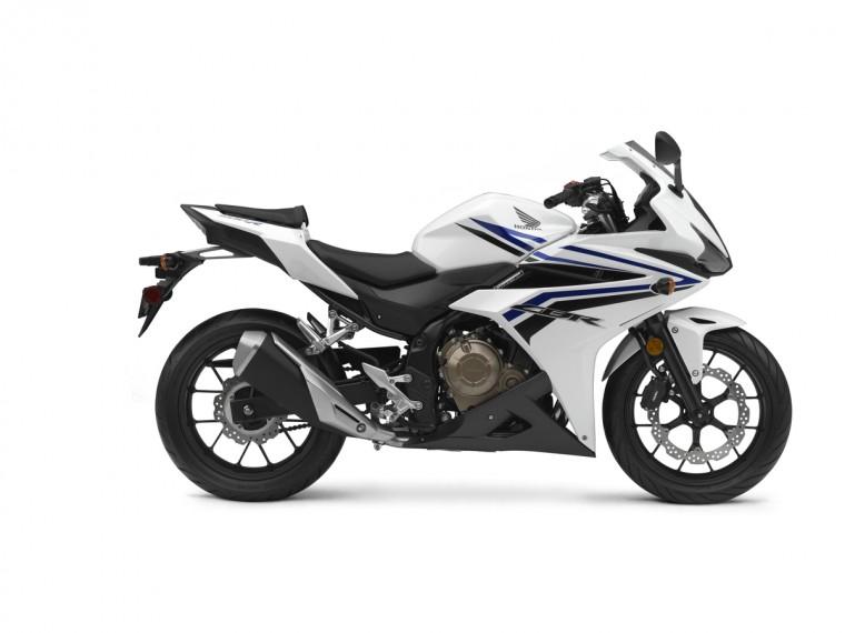 The new 2016 Honda CBR500R