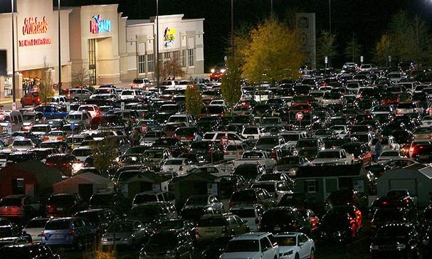 Black Friday Parking