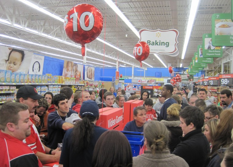 what time are stores opening on Black Friday Walmart
