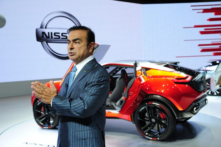 Nissan-Renault CEO Carlos Ghosn
