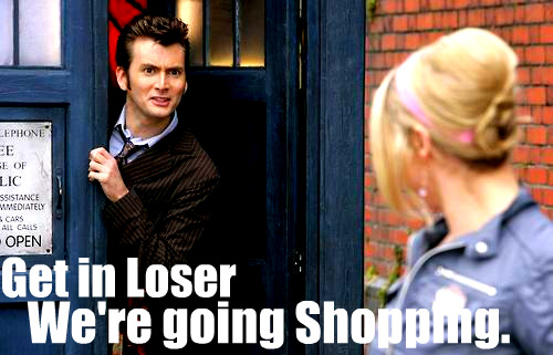Doctor Who Mean Girl