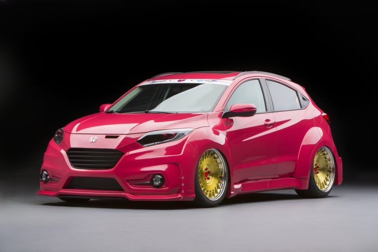 2016 Honda HR-V customized by Tjin Edition.