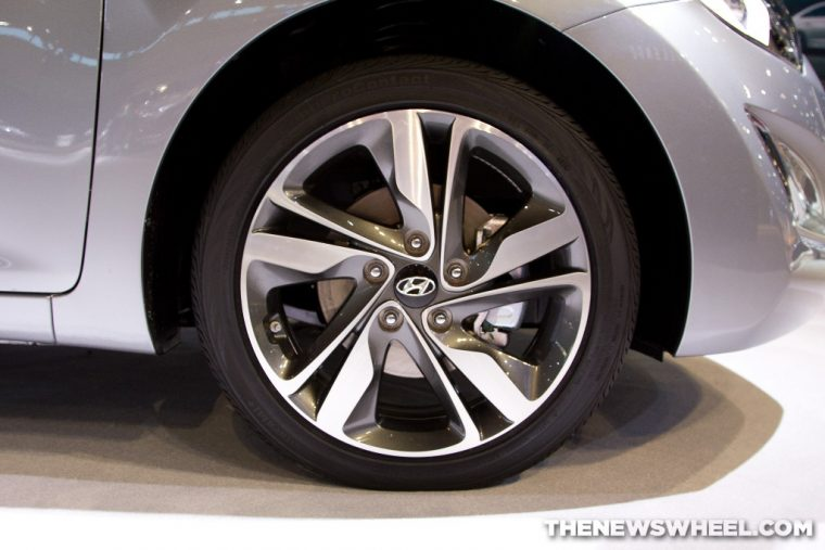 Hyundai wheel tire self-driving car