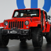 Jeep Wrangler Red Rock Concept Front End