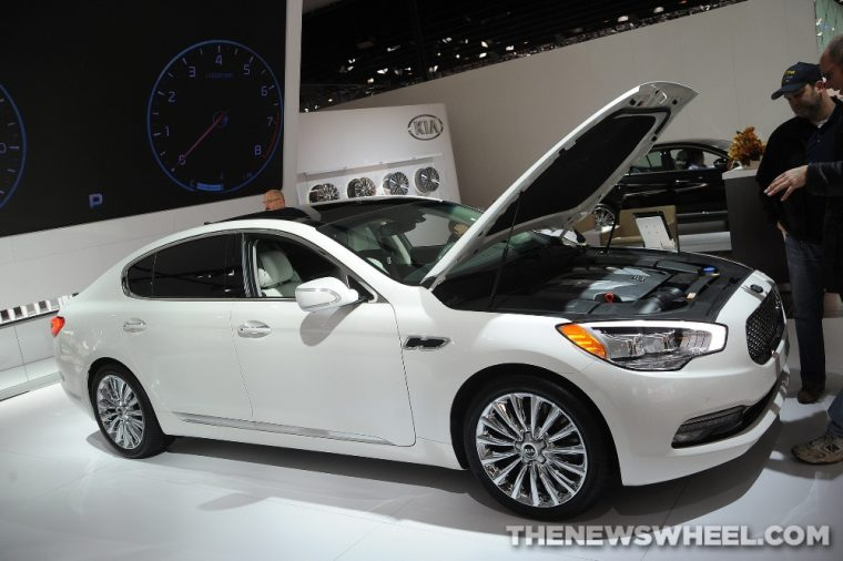 A new V6 engine will be available with the 2016 Kia K900, along with a host of other updates