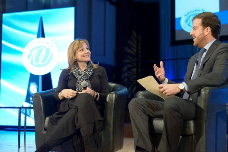 Mary Barra 100 Leading Women in the North American Auto Industry