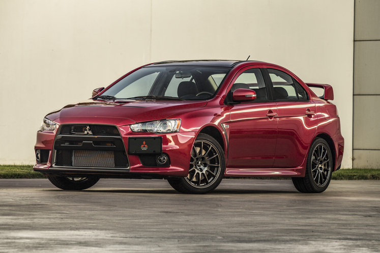 Mitsubishi Lancer Evolution Final Edition Number 0001