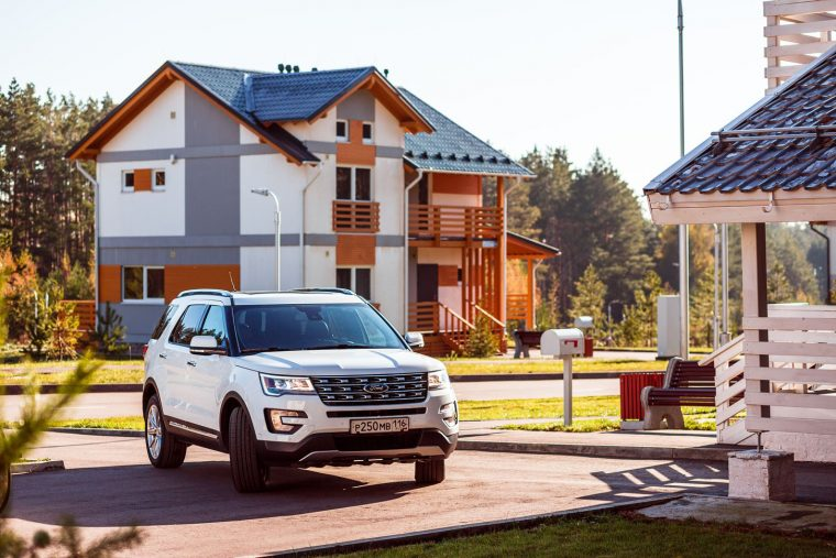 New Ford Explorer in Russia