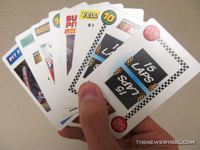 Official NASCAR Darrell Waltrip Presents Race Cards Stock Car Racing Card Game review cards