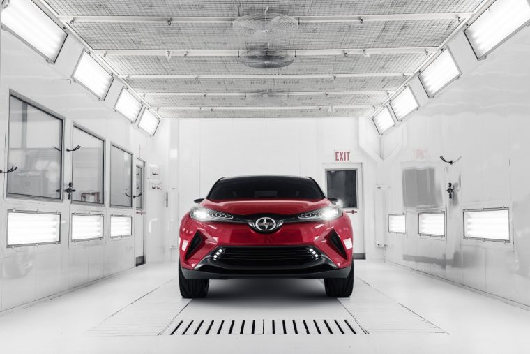 Scion C-HR Concept scion discontinued