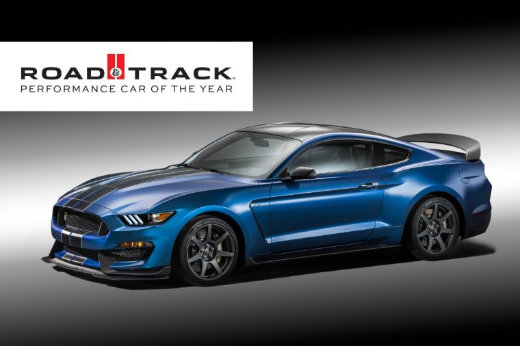 2016 Ford Shelby GT350R Mustang Road & Track 2016 Performance Car of the Year