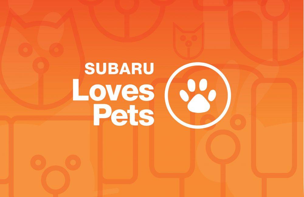 Subaru Loves Pets logo
