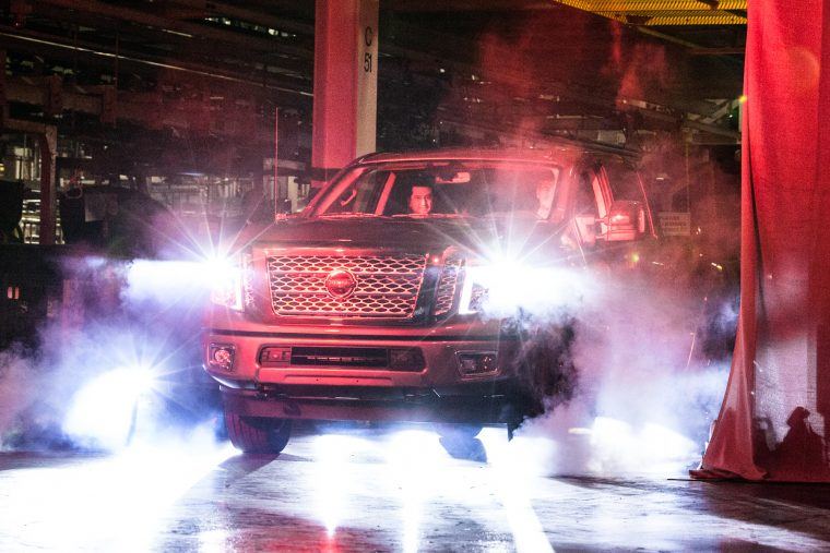 All-new Nissan TITAN XD full-size pickup production begins at Canton