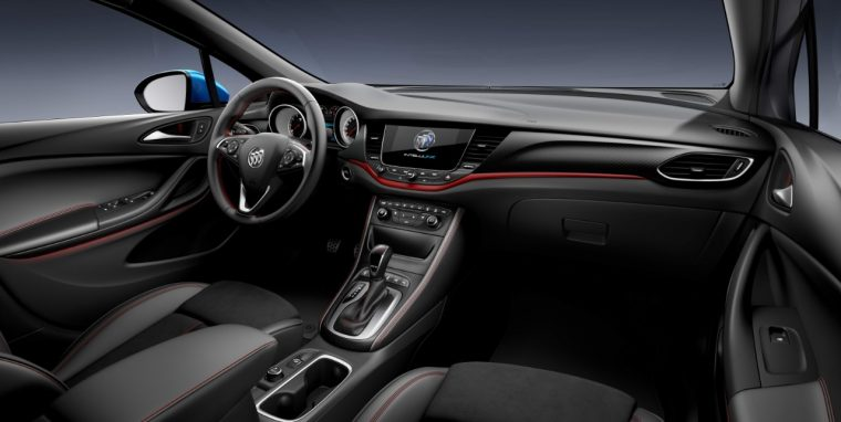 Get a Load of the Smooth Interior of China's Buick Verano ...