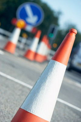 different types of traffic safety cones names & uses