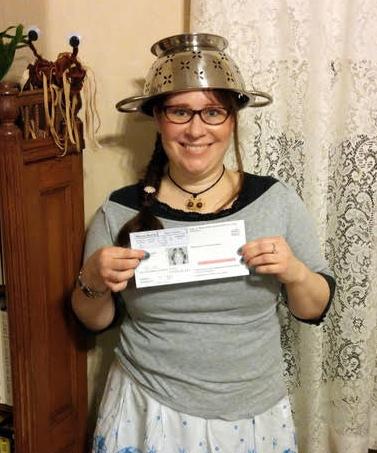 pastafarian driver's license