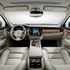 The interior fot he new S90 sedan is spacious and luxurious