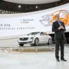 Cadillac President Johan de Nysscehn unveiled the 2016 Cadillac CT6