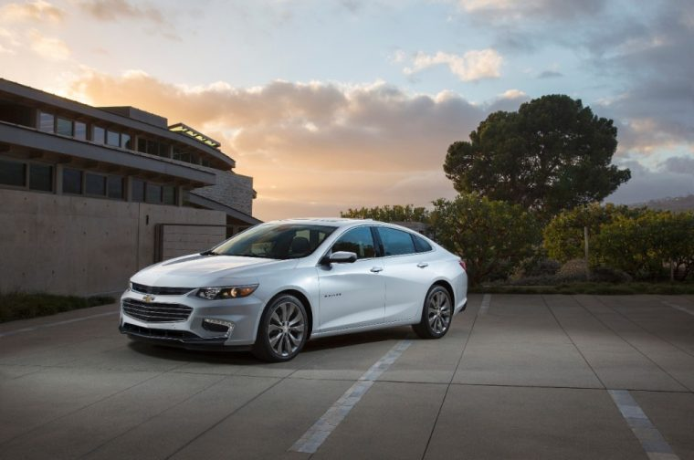 A theft-deterrent system comes equipped on the 2016 Chevy Malibu