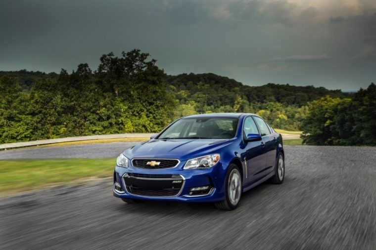 The 2016 Chevrolet SS comes with a Hood blanket