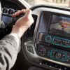 An audio system with 4.2-inch diagonal color screen is a standard feature of the new Silverado 2500 HD