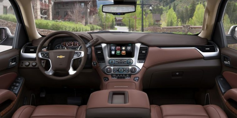 The 2016 Chevy Suburban comes standard with automatic climate control