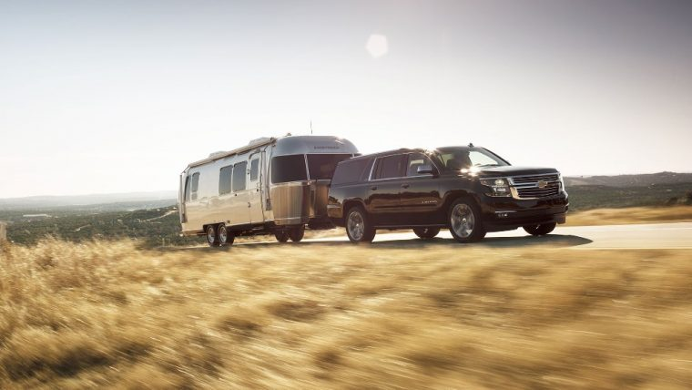 The 2016 Chevy Suburban features a 5.3-liter EcoTec3 V8 engine and Six-speed automatic with manual shifting